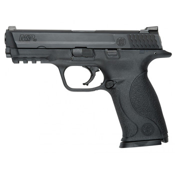"""Smith  Wesson MP, Full Size, 40 SW, 4.25"""" Barrel, Polymer Frame, Black Finish, Low Profile Carry Sights, 10Rd, 2 Magazines, Magazine Disconnect, 10.5 Lb Trigger, Massachusetts Compliant 109250, UPC : 022188092509"""
