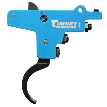 Timney Triggers M98, 2-4lbs Pull Weight, Trigger, Fits Most Bolt Action Rifles, Adjustable, Black Finish 101, UPC : 081950001019