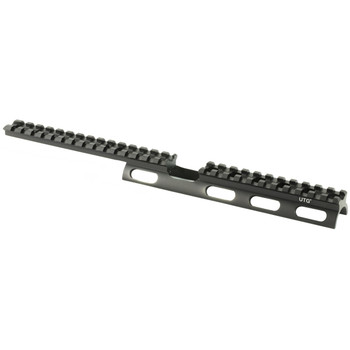 Leapers, Inc. - UTG Tactical Scout Slim Mount System, for Rug 10/22, Free Float, Black Finish MNT-R22SS26, UPC :4712274529649
