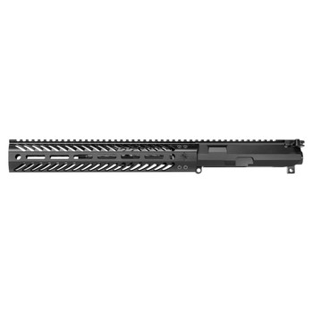 "Seekins Precision SBR Billet Upper, 300 Blackout, 8"" Barrel, Black Finish, MCSR Rail, Includes BCG and Charging Handle 11100057, UPC :811452027589"
