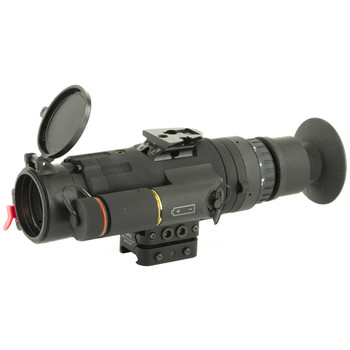 Trijicon Electro Optics REAP-IR, Thermal Weapon Sight, 2.5X Optical Magnification, 20X Digital Magnification, 35mm Objective Simple And Complex Reticles, Black Finish, 640x480 Pixel Digital OLED Display, 60Hz Frame Rate With 30Hz Power Save Mode IRMS