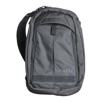"""Vertx EDC Transit Sling Bag, 17"""" x 11"""" x 6"""", Smoke Grey Nylon F1 VTX5040 SMG NA, UPC :720327759909"""
