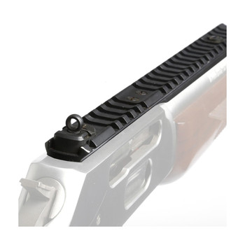 XS Sights White Stripe Front, Picatinny LeverRail With Inset Ghost Ring, Fits Marlin 1895 Round Barrel With Bolt On Sight, Hardware Kit Included ML-1001-5, UPC :647533035859