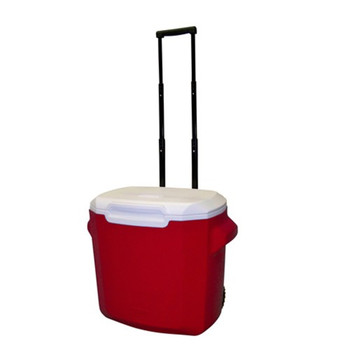 Coleman 28 Quart Wheeled Personal Cooler Red 3000003660, UPC : 076501389999