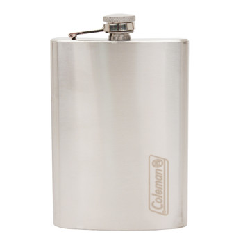 Coleman 8 Oz Stainless Steel Flask Silver 2000016397, UPC : 076501920659