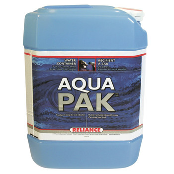 Reliance Water-Pak Water Container 5 Gallon, UPC : 060823882009