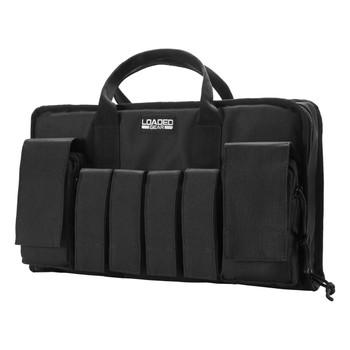 Barska Loaded Gear RX-50 16in Dual Pistol Case-Black, UPC :790272000289