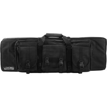 Barska Loaded Gear RX-200 45.5in Tactical Rifle Bag - Black, UPC :790272984619