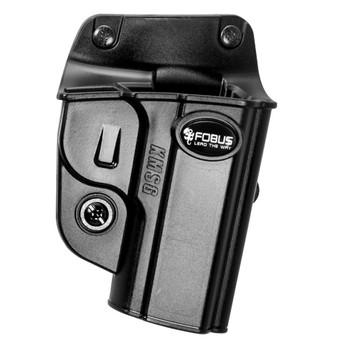 Black RU101BH Right Hand Fobus E2 Belt Holster Kydex Fits Ruger LCR//SP101