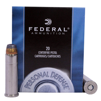 Federal Premium Personal Defense Ammunition 357 Magnum 125 Grain Jacketed Hollow Point Box of 20, UPC : 029465092979