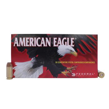 Federal American Eagle Ammunition 40 S&W 155 Grain Full Metal Jacket Box of 50, UPC : 029465092559