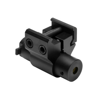 NcStar 5mw Compact Red Laser Sight with Weaver-Style Mount Matte, UPC :814108017019