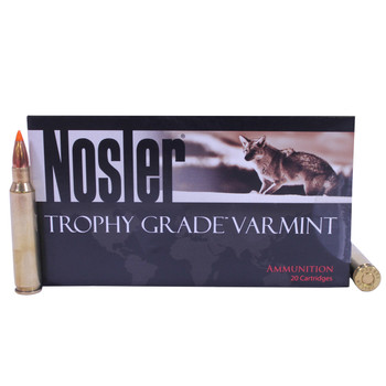 Nosler Trophy Grade Ammunition 223 Remington 40 Grain Ballistic Tip Varmint Spitzer Box of 20, UPC : 054041600019
