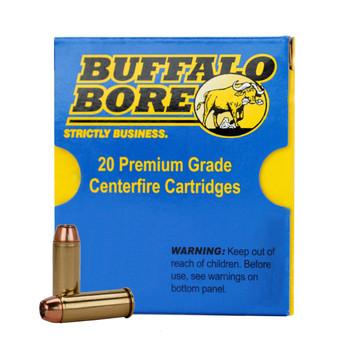 Buffalo Bore Ammunition 45 Colt (Long Colt) 200 Grain Jacketed Hollow Point Box of 20, UPC :651815003269
