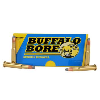 Buffalo Bore Ammunition 30-30 Winchester 190 Grain Jacketed Flat Nose Box of 20, UPC :651815028019