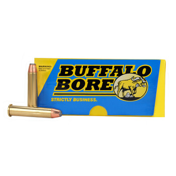 Buffalo Bore Ammunition 45-70 Government 300 Grain Jacketed Hollow Point Box of 20, UPC :651815008059