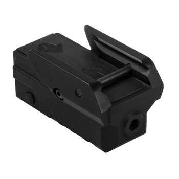 Compact Pistol Grn Laser With Strobe/Blk, UPC :848754004659