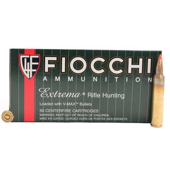 Fiocchi Extrema Ammunition 204 Ruger 40 Grain Hornady V-MAX Point Box of 50, UPC :762344707389