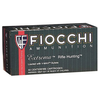 Fiocchi Extrema Ammunition 204 Ruger 40 Grain Hornady V-MAX Point Box of 50, UPC :762344707389