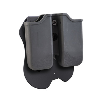 Caldwell Tac Ops Paddle Double Magazine Pouch Right Hand Single Stack 1911 Polymer Black, UPC :661120000839