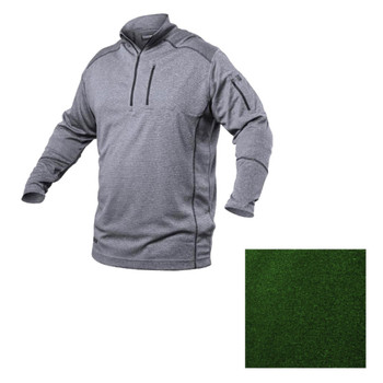 Convoy 1/4 Zip Shirt Steel, UPC :648018030109