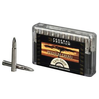Federal Premium Cape-Shok Ammunition 458 Lott 500 Grain Trophy Bonded Bear Claw Box of 20, UPC : 029465098179