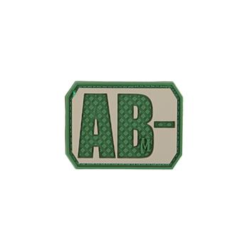 AB- NEG Blood Type Patch, UPC :846909013099