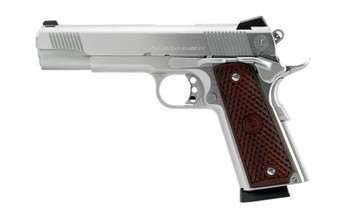 "American Classic 1911, Full Size, 45ACP, 5"" Barrel, Hard Chrome Finish, Wood Grips, Novak Low Mount Carry Sights, 1 Magazine, 8 Rounds AC45G2C, UPC : 094922351968"
