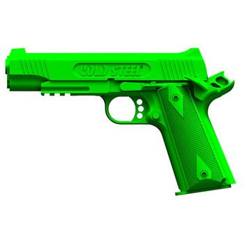 Cold Steel 1911 Cocked & Locked Demonstrator Gun, Polypropylene Frame, Green Finish, Pistol Trainer, Hammer Back, Safety On 92RGC11C, UPC :705442012108