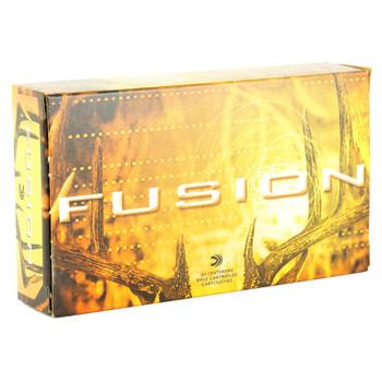 Federal Fusion, 270WIN, 130 Grain, Boat Tail, 20 Round Box F270FS1, UPC : 029465097868