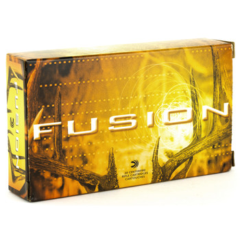 Federal Fusion, 30-06, 180 Grain, Boat Tail, 20 Round Box F3006FS3, UPC : 029465097998