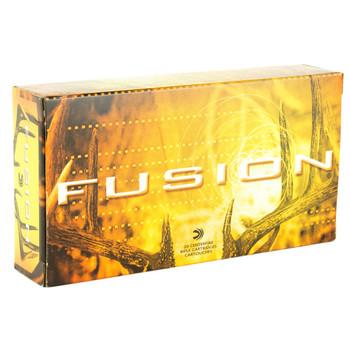 Federal Fusion, 300 WIN MAG, 165 Grain, Boat Tail, 20 Round Box F300WFS2, UPC : 029465098018