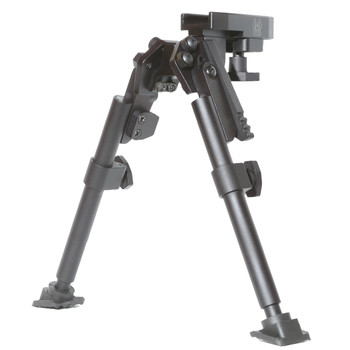 GG&G, Inc. Bipod, with Swivel, Fits Picatinny, Black GGG-1125, UPC :813157000478