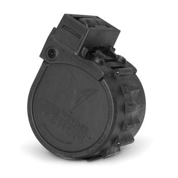 Adaptive Tactical Drum Magazine, 12 Gauge, 10Rd, Fits Sidewinder Venom, Black Finish AT-00902, UPC :682146910018