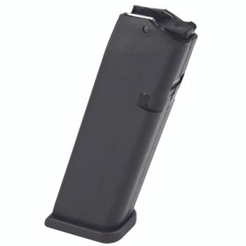 Glock OEM Magazine, 9MM, 10Rd, Fits Glock 17/34, Cardboard Style Packaging, Black Finish MF10017, UPC :764503100178