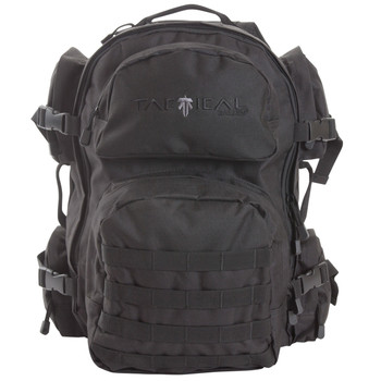 "Allen Intercept Tactical Pack, Black Endura Fabric, 18.5""x16""x10"", 2500 Cubic Inch, Hydration Compatable, Compression Straps, Padded Shoulder Straps With Adjustable Sternum Strap, Internal Organizer Compartments, Side Carrying Handles 10857, UPC : 02"
