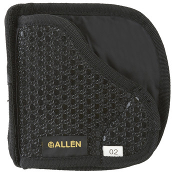 Allen Baseline In The Pocket Holster, Ambidextrous, Black Tacky Fabric, Fits Small Semi-automatic Pistols 44202, UPC : 026509442028