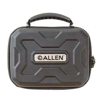 "Allen Exo Pistol Case, Black Thermo-molded Exoskeleton, 9""x6.25"", Lockable Zipper 82-9, UPC : 026509018858"