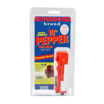 Mace Security International Pepper Spray, 10% Pepper Guard, 18gm, With Keychain 80153, UPC : 022188801538