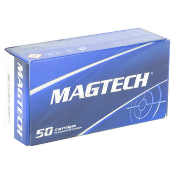 Magtech Sport Shooting, 38 Special, 125 Grain, Full Metal Jacket, 50 Round Box 38Q, UPC :754908184118