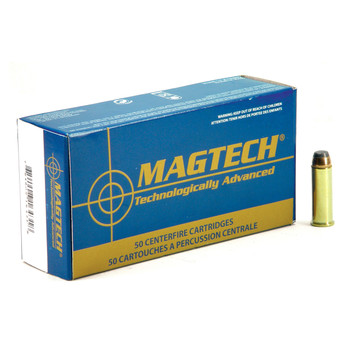 Magtech Sport Shooting, 44MAG, 240 Grain, Jacketed Soft Point, 50 Round Box 44A, UPC :754908164318