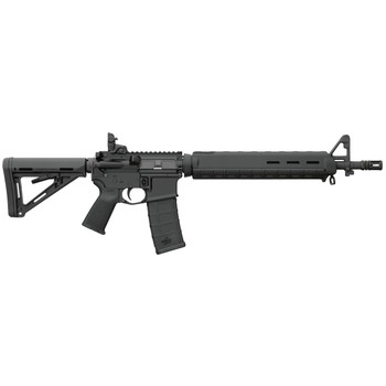 "Bushmaster MOE Dissipator, Semi-automatic, AR, 223 Rem, 556NATO, 16"", Black, Magpul MOE, 30Rd, Magpul Backup Flip Sight 90829, UPC :604206129758"