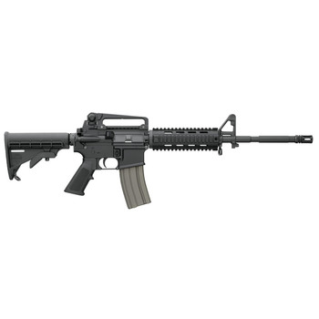 """Bushmaster M4A3, Semi-automatic, 223 Rem/556NATO 16"""" Chrome Lined M4 Barrel with Bayonet Lug and A2 Birdcage, Black 6 Position Collapsible Stock, 30Rd, Four Rail Handguard 90831, UPC :604206129628"""