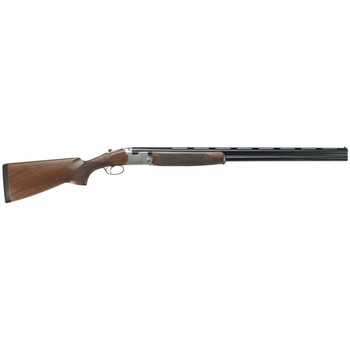 "Beretta Silver Pigeon I, 12Ga, 28"" Cold Hammer Forged Barrels, Low Profile Silver Receiver, Oiled Walnut Wood Stock, 2 Rounds J6863J8, UPC : 082442147048"
