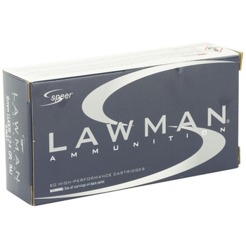 CCI/Speer 9mm, 124 Grain, Total Metal Jacket, 50 Round Box 53651, UPC : 076683536518