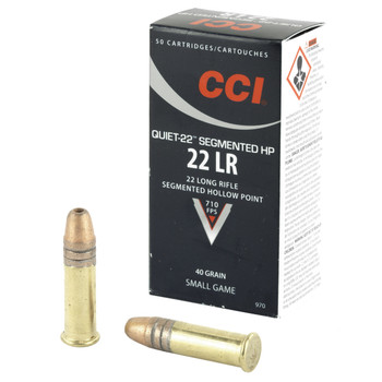 CCI/Speer Hunting, 22LR, 40 Grain, Game Point, 50 Round Box 970, UPC : 076683009708