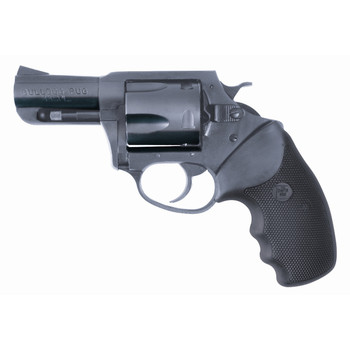 """Charter Arms Bulldog, 44 Special, 2.5"""" Barrel, Steel Frame, Blue Finish, Rubber Grips, Fixed Sights, 5Rd, Fired Case 14420, UPC :678958144208"""