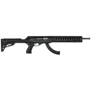 "CZ 512 Tactical, Semi-automatic Rifle, 22LR, 20.5"" Threaded Hammer Forged Barrel, 1/2x28 TPI, Black Finish, Adjustable ATI Stock, 25 Rounds 02163, UPC :806703021638"