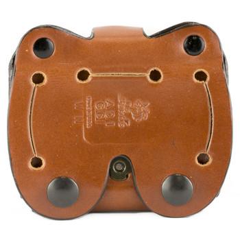 Desantis Double Magazine Pouch, Double Stack 9MM/40, Ambidextrous, Tan Leather A01TJGGZ0, UPC :792695215288