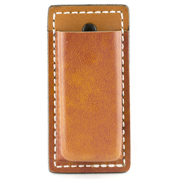Desantis Secure Single Magazine Pouch, Fits Single Stack 45 Caliber, Ambidextrous, Tan Leather A47TJLLZ0, UPC :792695254348
